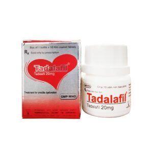 Tadalafil 20mg Lọ 10 Viên - Điều Trị Rối Loạn Cương Dương