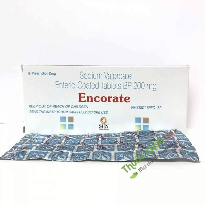 Encorate 500 mg tablets