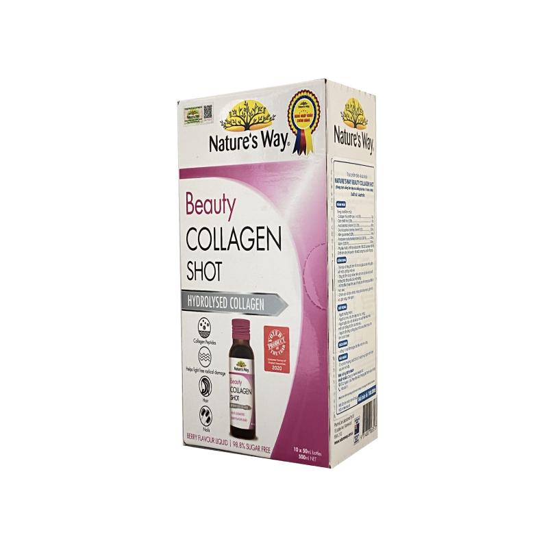 Beauty Collagen Shot Hộp 10 Chai - Gìn Giữ Vẻ Đẹp Thanh Xuân
