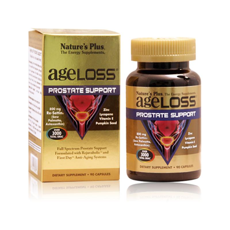 Ageloss Prostate Support Hộp 90 Viên - Viên Uống Tăng Cường Sinh Lý Nam