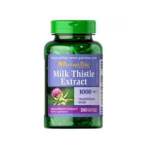 Milk Thistle Extract 1000mg Hộp 180 Viên - Viên Uống Bổ Gan