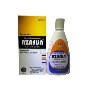 Azasun Extra 2,5% chai 120ml