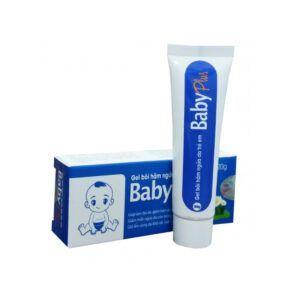 Baby Plus tuýp 20g - Giúp làm dịu da, giảm hăm da, rộp da, phổng mụn ở trẻ em