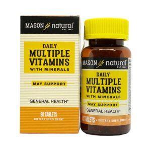 Daily Multiple Vitamins Hộp 60 Viên - Hỗ Trợ Sức Khỏe Tổng Quát