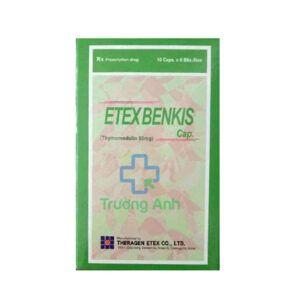 Etex Benkis Capsule Hộp 60 viên - Trị Các Bệnh Nhiễm Trùng