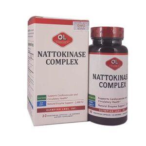 Nattokinase Complex Lọ 30 Viên - Hỗ Trợ Tai Biến Mạch Máu Não