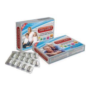Tonic CaDHA Hộp 30 Viên - Bổ Sung Canxi, Vitamin D3