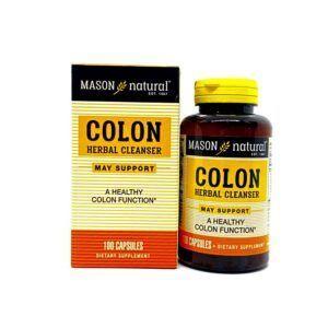 Colon Herbal Cleanser Lọ 100 Viên - Hỗ Trợ Chức Năng Đại Tràng