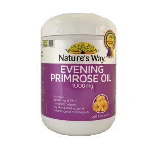 Evening Primrose Oil Lọ 200 Viên - Làm Đẹp Cho Làn Da Của Bạn