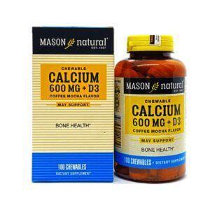 Calcium 600mg + D3 - Hỗ trợ sức khỏe xương khớp