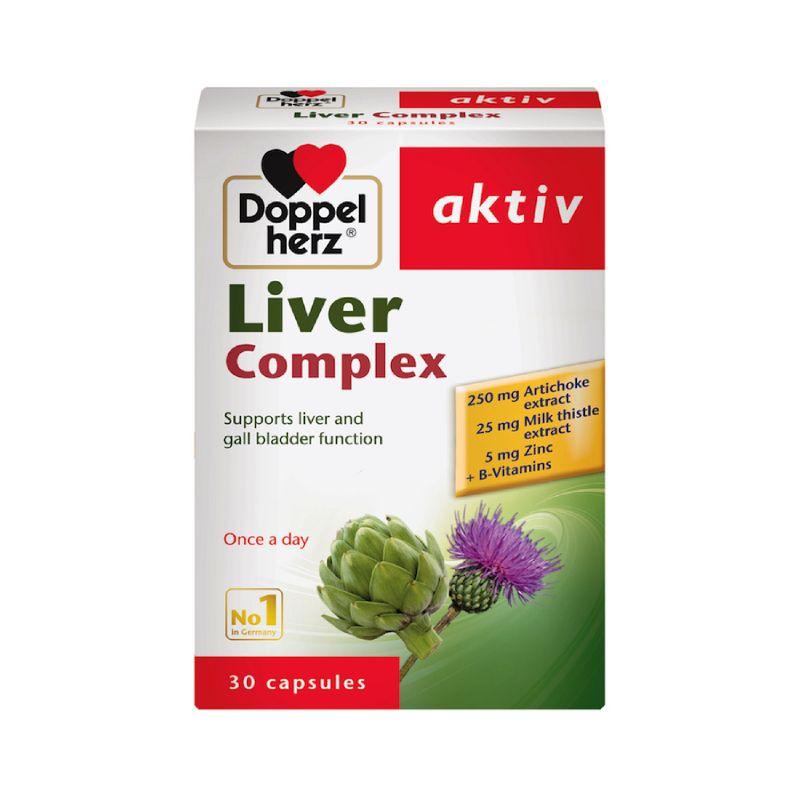 Doppelherz Liver Complex Hộp 30 viên - Giải Độc Gan