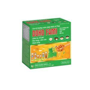 Doko Fami Hộp 20 Ống - Hỗ Trợ Giảm Ho, Long Đờm