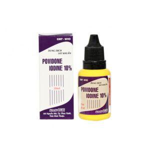 Povidone chai 20ml - Dung dịch sát khuẩn