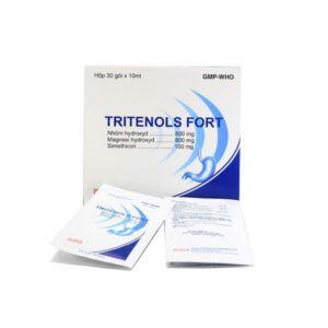 Tritenols Fort hộp 30 gói - Điều trị viêm dạ dày cấp và mãn tính