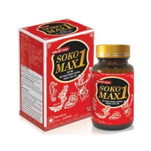 Soko Max 1 Lọ 30 Viên - Tăng Cường Sinh Lý Nam Giới