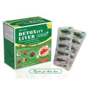 Detoxify Liver Hộp 50 Viên - Giúp Giải Độc, Bảo Vệ Gan