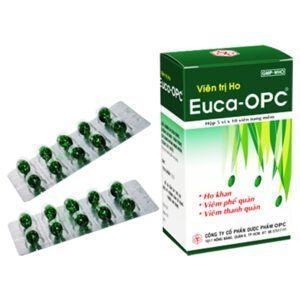 Viên trị ho EUCA-OPC hộp 50 viên