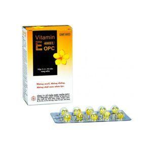 Vitamin E 400 IU OPC hộp 40 viên
