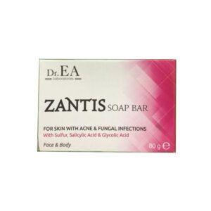Zantis soap bar hộp 80g
