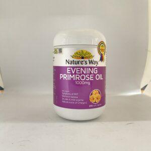 Evening Primrose Oil - Lọ 200 viên - Điều trị kinh nguyệt, tiền mãn kinh
