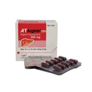 A.T Arginin hộp 30 viên
