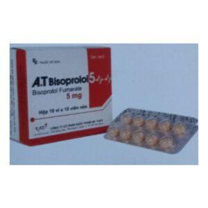 A.T Bisoprolol 5 hộp 100 viên