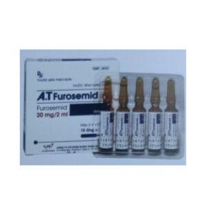A.T Furosemid hộp 10 ống