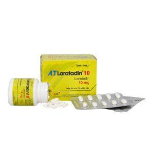 A.T Loratadin 10 hộp 100 viên