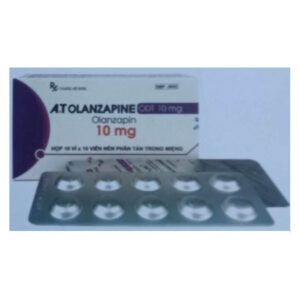A.T Olanzapine ODT 10mg hộp 100 viên