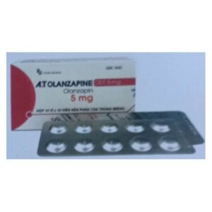 A.T Olanzapine ODT 5mg hộp 100 viên