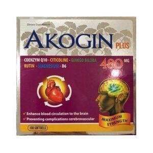Akogin Plus Hộp 100 Viên