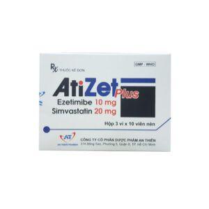 Atizet Plus hộp 30 viên