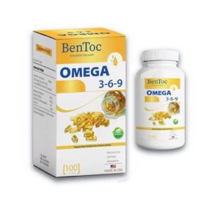 BenToc Omega 369 Lọ 100 Viên