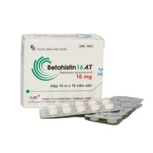 Betahistin 16 A.T hộp 100 viên
