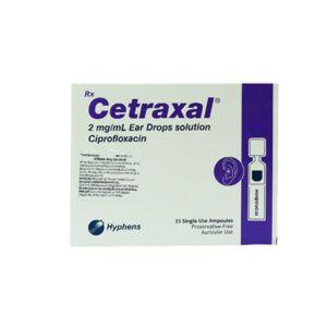 Cetraxal Hộp 15 Ống - Điều Trị Viêm Tai Ngoài