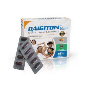Daigiton Multi Hộp 60 Viên