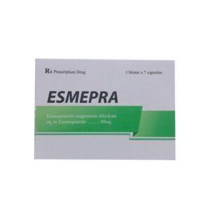Esmepra hộp 7 viên - Điều trị bệnh trào ngược dạ dày , thực quản