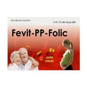 Fevit PP Folic Hộp 75 Viên