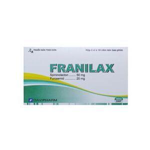 Franilax hộp 30 viên