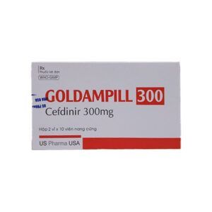 Goldampill 300 hộp 20 viên