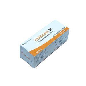 Hypravas 20 hộp 60 viên - Hỗ trợ làm giảm cholesterol trong máu