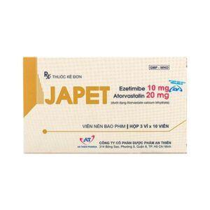 Japet Hộp 30 Viên - Làm Giảm Cholesterol Trong Máu