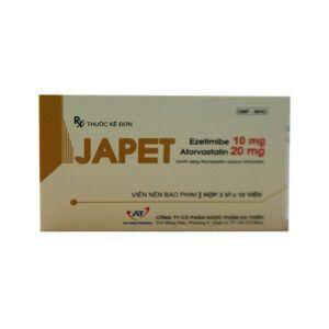 Japet hộp 30 viên - Hỗ trợ làm giảm cholesterol trong máu
