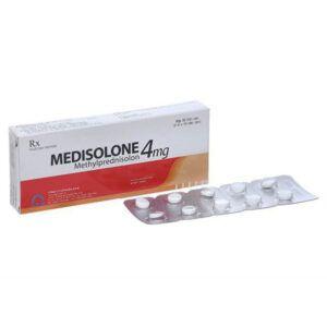 Medisolone 4 Hộp 30 Viên