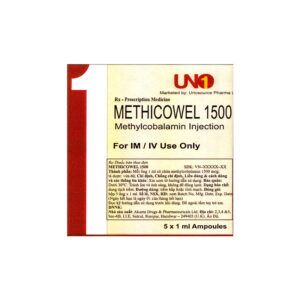 Methicowel 1500 hộp 5 ống