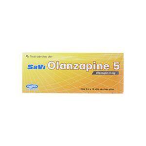 Olanzapine hộp 30 viên