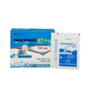 Paracetamol A.T 150 sac hộp 30 gói