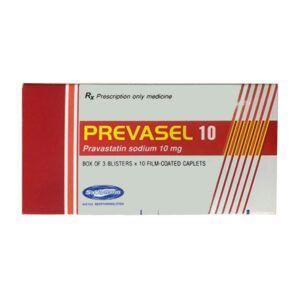 Prevasel 10 Hộp 30 Viên - Điều Trị Tăng Cholesterol Máu