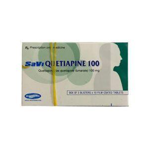 Quetiapine 100 hộp 30 viên