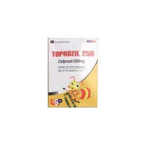 Toprozil 250 hộp 10 gói